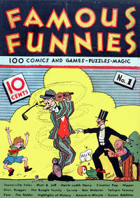 Cover Thumbnail for Famous Funnies (Eastern Color, 1934 series) #1