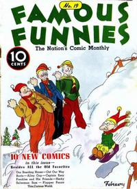 Cover Thumbnail for Famous Funnies (Eastern Color, 1934 series) #19