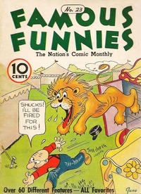 Cover Thumbnail for Famous Funnies (Eastern Color, 1934 series) #23