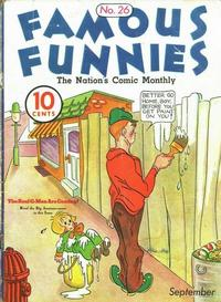 Cover Thumbnail for Famous Funnies (Eastern Color, 1934 series) #26