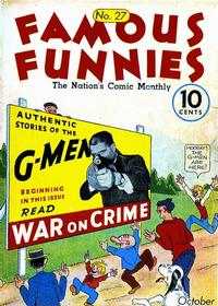 Cover Thumbnail for Famous Funnies (Eastern Color, 1934 series) #27