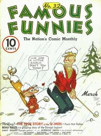 Cover Thumbnail for Famous Funnies (Eastern Color, 1934 series) #32
