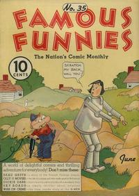 Cover Thumbnail for Famous Funnies (Eastern Color, 1934 series) #35