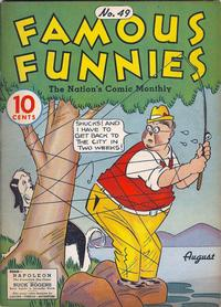 Cover Thumbnail for Famous Funnies (Eastern Color, 1934 series) #49