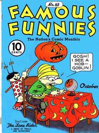 Cover Thumbnail for Famous Funnies (Eastern Color, 1934 series) #63