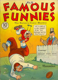 Cover Thumbnail for Famous Funnies (Eastern Color, 1934 series) #64