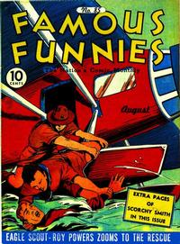 Cover Thumbnail for Famous Funnies (Eastern Color, 1934 series) #85