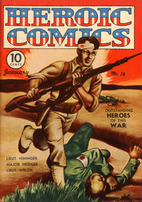 Cover Thumbnail for Heroic Comics (Eastern Color, 1943 series) #16