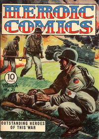 Cover Thumbnail for Heroic Comics (Eastern Color, 1943 series) #23