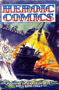 Cover Thumbnail for Heroic Comics (Eastern Color, 1943 series) #25