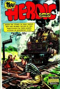 Cover Thumbnail for New Heroic Comics (Eastern Color, 1946 series) #52