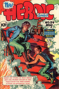 Cover Thumbnail for New Heroic Comics (Eastern Color, 1946 series) #54