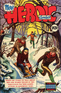 Cover Thumbnail for New Heroic Comics (Eastern Color, 1946 series) #58