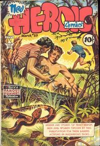 Cover Thumbnail for New Heroic Comics (Eastern Color, 1946 series) #59