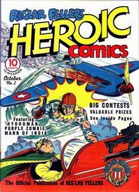 Cover Thumbnail for Reg'lar Fellers Heroic Comics (Eastern Color, 1940 series) #2