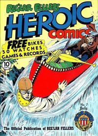 Cover Thumbnail for Reg'lar Fellers Heroic Comics (Eastern Color, 1940 series) #7