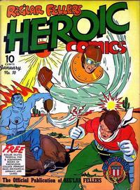 Cover Thumbnail for Reg'lar Fellers Heroic Comics (Eastern Color, 1940 series) #10