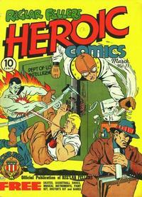 Cover Thumbnail for Reg'lar Fellers Heroic Comics (Eastern Color, 1940 series) #11