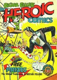 Cover Thumbnail for Reg'lar Fellers Heroic Comics (Eastern Color, 1940 series) #13