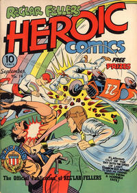 Cover Thumbnail for Reg'lar Fellers Heroic Comics (Eastern Color, 1940 series) #14