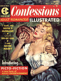 Cover Thumbnail for Confessions Illustrated (EC, 1956 series) #1