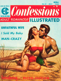 Cover Thumbnail for Confessions Illustrated (EC, 1956 series) #2