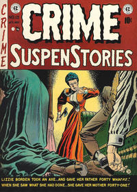 Cover Thumbnail for Crime SuspenStories (EC, 1950 series) #13