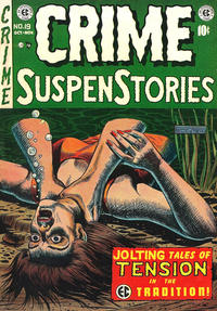 Cover Thumbnail for Crime SuspenStories (EC, 1950 series) #19