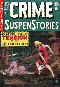 Cover Thumbnail for Crime SuspenStories (EC, 1950 series) #21
