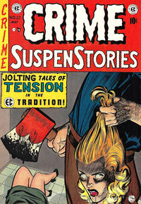 Cover Thumbnail for Crime SuspenStories (EC, 1950 series) #22