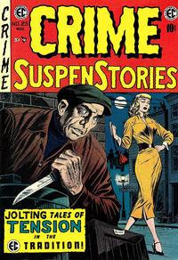 Cover Thumbnail for Crime SuspenStories (EC, 1950 series) #25