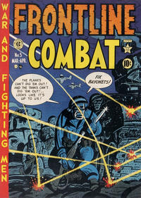 Cover Thumbnail for Frontline Combat (EC, 1951 series) #5