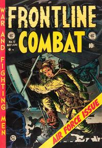 Cover Thumbnail for Frontline Combat (EC, 1951 series) #12