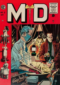 Cover Thumbnail for M.D. (EC, 1955 series) #3