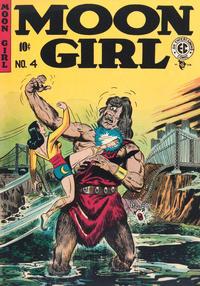 Cover Thumbnail for Moon Girl (EC, 1947 series) #4