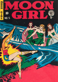 Cover Thumbnail for Moon Girl (EC, 1947 series) #5