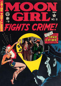 Cover Thumbnail for Moon Girl (EC, 1947 series) #8