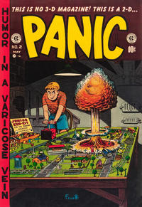Cover Thumbnail for Panic (EC, 1954 series) #2