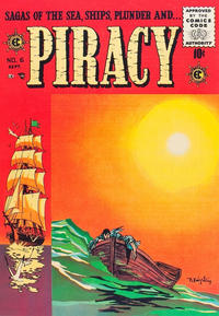 Cover Thumbnail for Piracy (EC, 1954 series) #6