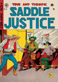 Cover Thumbnail for Saddle Justice (EC, 1948 series) #3