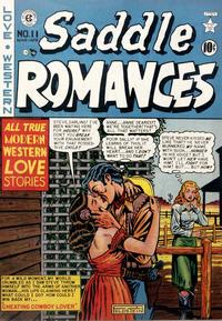 Cover Thumbnail for Saddle Romances (EC, 1949 series) #11
