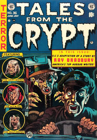 Cover Thumbnail for Tales from the Crypt (EC, 1950 series) #36