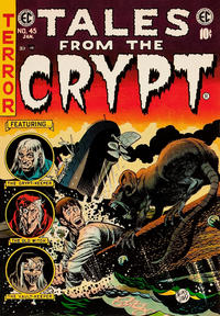 Cover Thumbnail for Tales from the Crypt (EC, 1950 series) #45