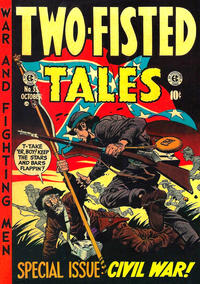 Cover Thumbnail for Two-Fisted Tales (EC, 1950 series) #35