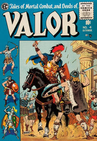 Cover Thumbnail for Valor (EC, 1955 series) #4
