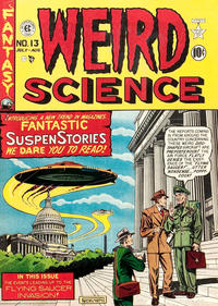 Cover Thumbnail for Weird Science (EC, 1950 series) #13