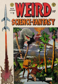 Cover Thumbnail for Weird Science-Fantasy (EC, 1954 series) #25