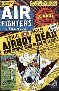 Cover Thumbnail for Air Fighters Classics (Eclipse, 1987 series) #2