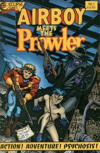 Cover Thumbnail for Airboy Meets the Prowler (Eclipse, 1987 series) #1