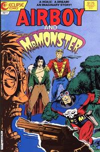 Cover Thumbnail for Airboy-Mr. Monster Special (Eclipse, 1987 series) #1